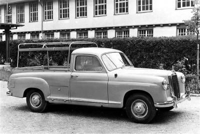 Mercedes 180D Binz pick-up