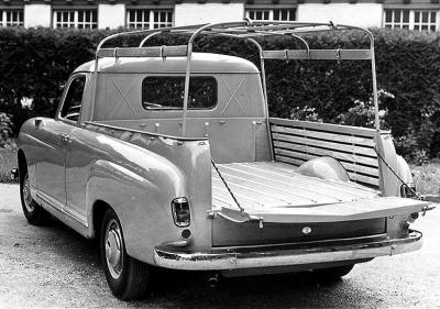 Mercedes 180D Binz pick-up