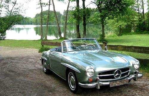 Mercedes 190SL, Mercedes SL, Mercedes-Benz museum