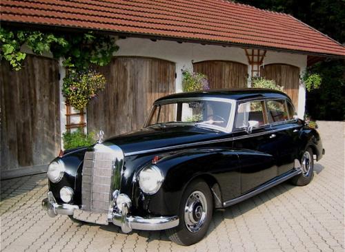 Mercedes 300 Adenauer, Mercedes s-class