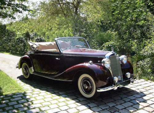 Mercedes 170 the first mercedes s class from the late 1940s for Mercedes benz 170 ds for sale