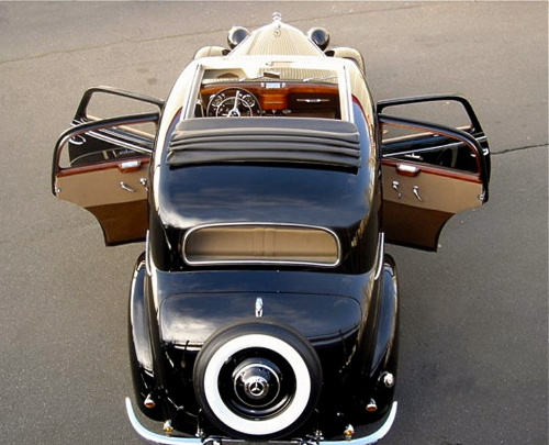 mercedes 170 the first mercedes s class from the late 1940s. Black Bedroom Furniture Sets. Home Design Ideas