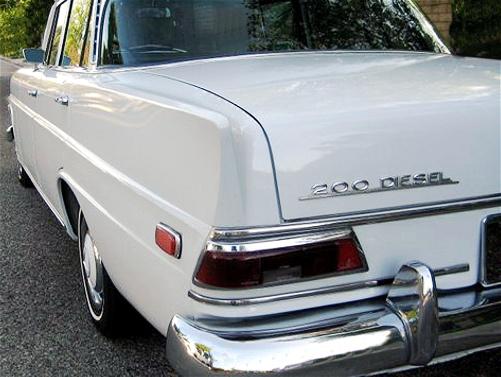 Mercedes 200D, rls