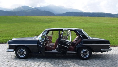 mercedes 300 sel 6 3 the 1960s v8 powerhouse. Black Bedroom Furniture Sets. Home Design Ideas
