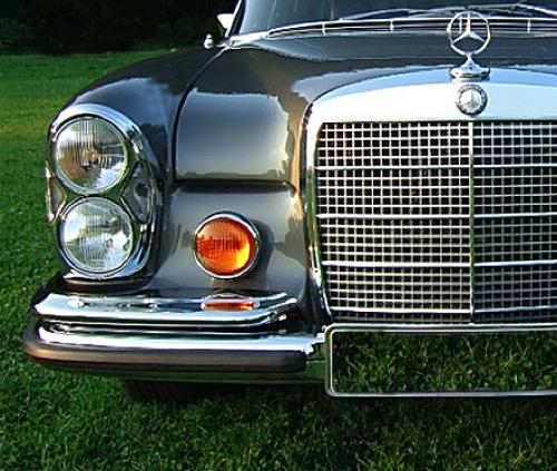 Mercedes 300 SEL, mercedes museum, mercedes s-class