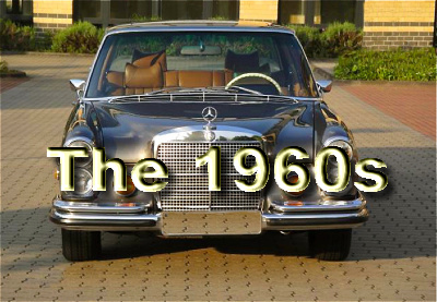 Mercedes Benz cars of the 1960s